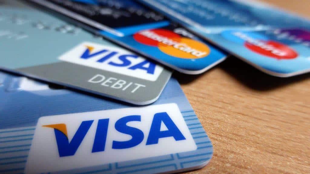principali carte di debito e credito accettate
